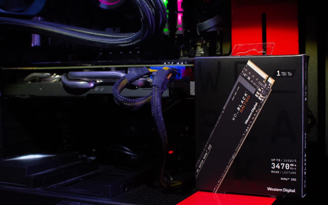 Photo de TEST – WD Black SN750 NVMe : Toute la puissance du NVMe au format M.2