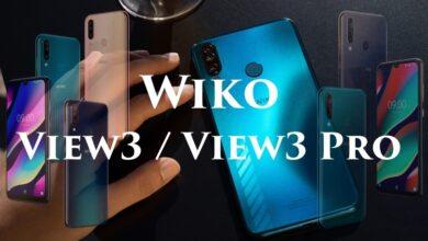 Nouveau Wiko View3 et View3 Pro