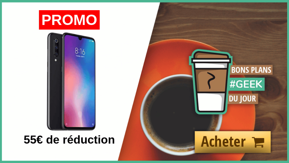 Promotion Xiaomi Mi9