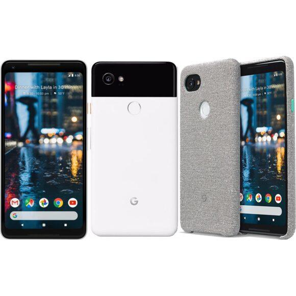 Google Pixel 2 XL / Huawei promo