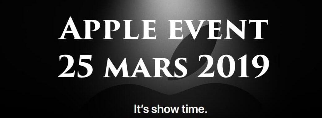 Apple Event 25 mars 2019