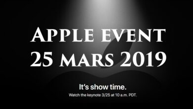 Apple Event 25 mars 2019