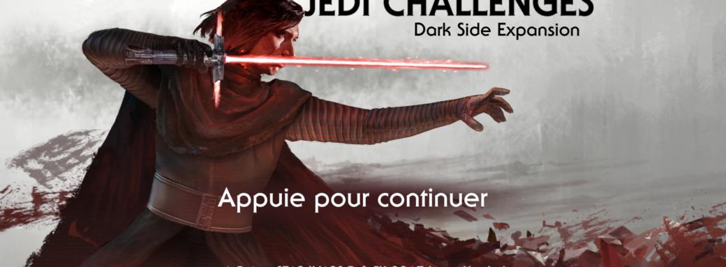 Star Wars : The Jedi Challenges