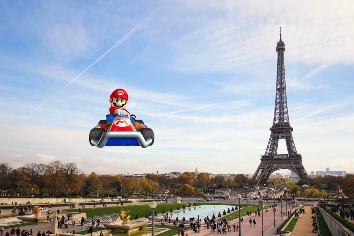 Photo de Le prochain Mario Kart dans les rues parisiennes