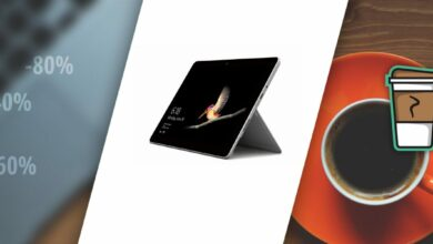 Photo of Bon plan – La Microsoft Surface Go (tablette) passe à 400€ !