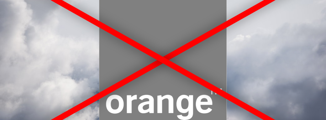 Orange Cloud Barré