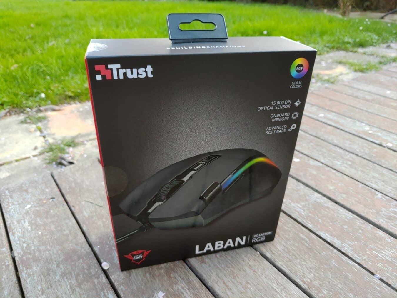 Photo de Test – Souris Trust Laban GXT188 : une souris performante au design commun