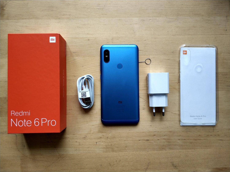 Déballage Xiaomi Redmi Note 6 Pro
