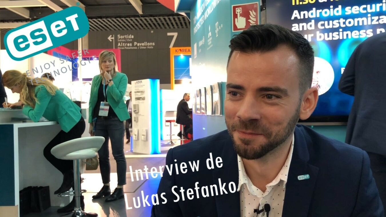 Photo of ESET Android App Watch vous protège du piratage – Lukas Stefanko interview au MWC 19