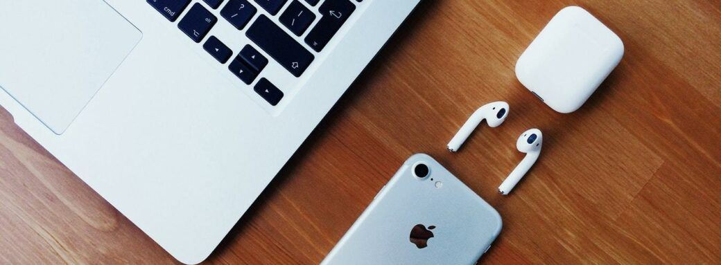 Airpods dans l'écosystème Apple.