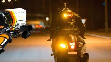 Photo de Test – Clic-Light – Système de sécurité lumineux pour les deux roues