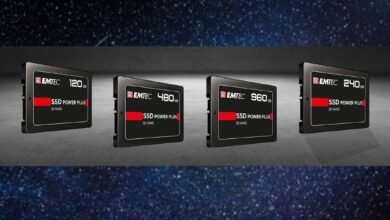 Photo de EMTEC lance sa gamme de SSD internes Power Plus X150