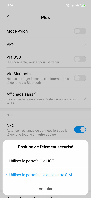 NFC Xiaomi Mi 9 SE