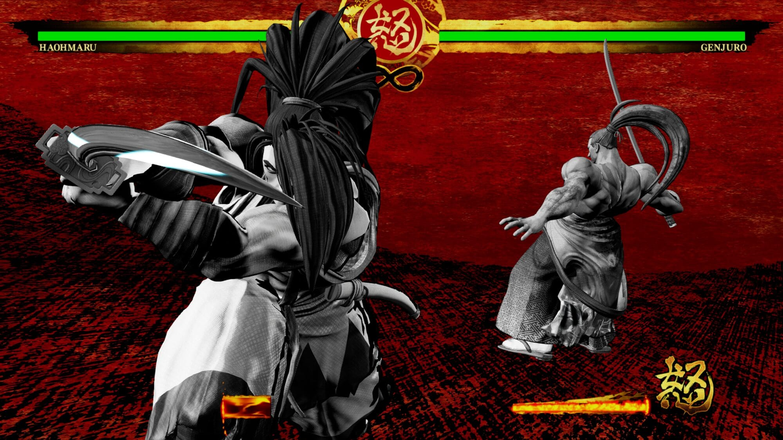 Samurai Shodown-ingame