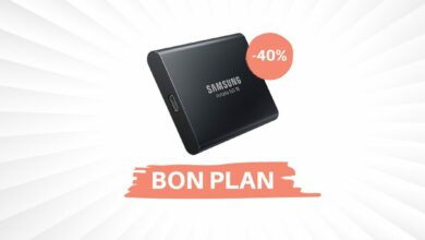 Photo of Bon Plan: -40% sur le SSD externe Samsung T5 de 1T !