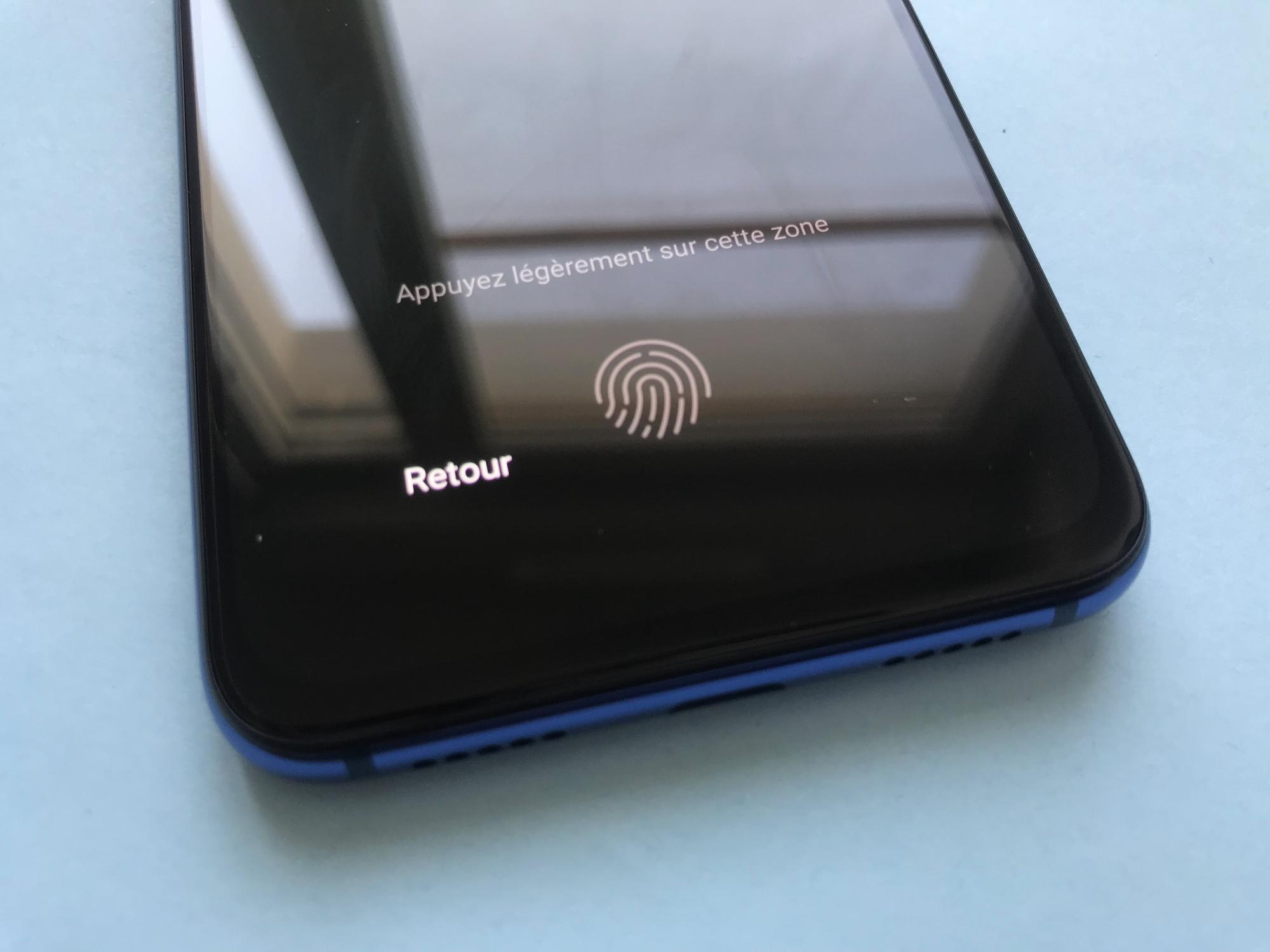 Lecteur d'empreintes Xiaomi Mi 9 SE