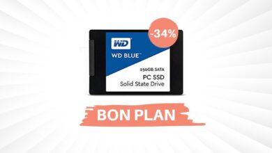 Photo of Bon plan – Un SSD Western Digital 250 Go pour seulement 35€ !