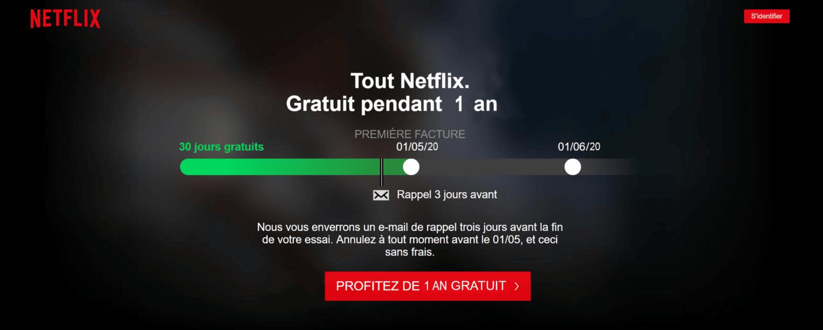 Photo of Netflix : 1 an d'abonnement offert aux possesseurs d'un Android