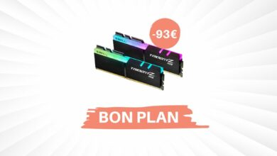 Photo of Bon plan – 16 Go de RAM G.Skill Trident Z RGB pour 129,99€ !