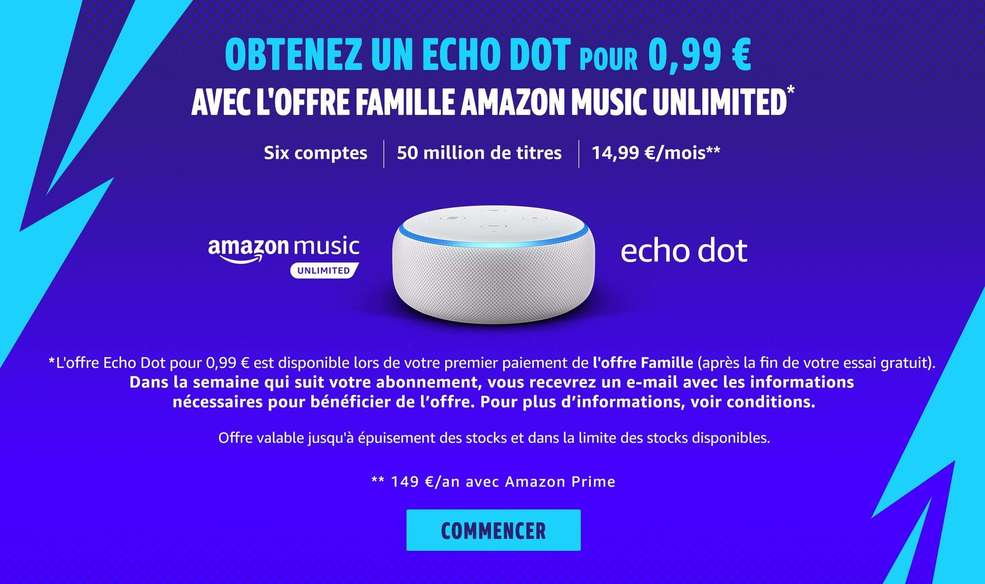 Amazon Echo Dot - Amazon Music Unlimited
