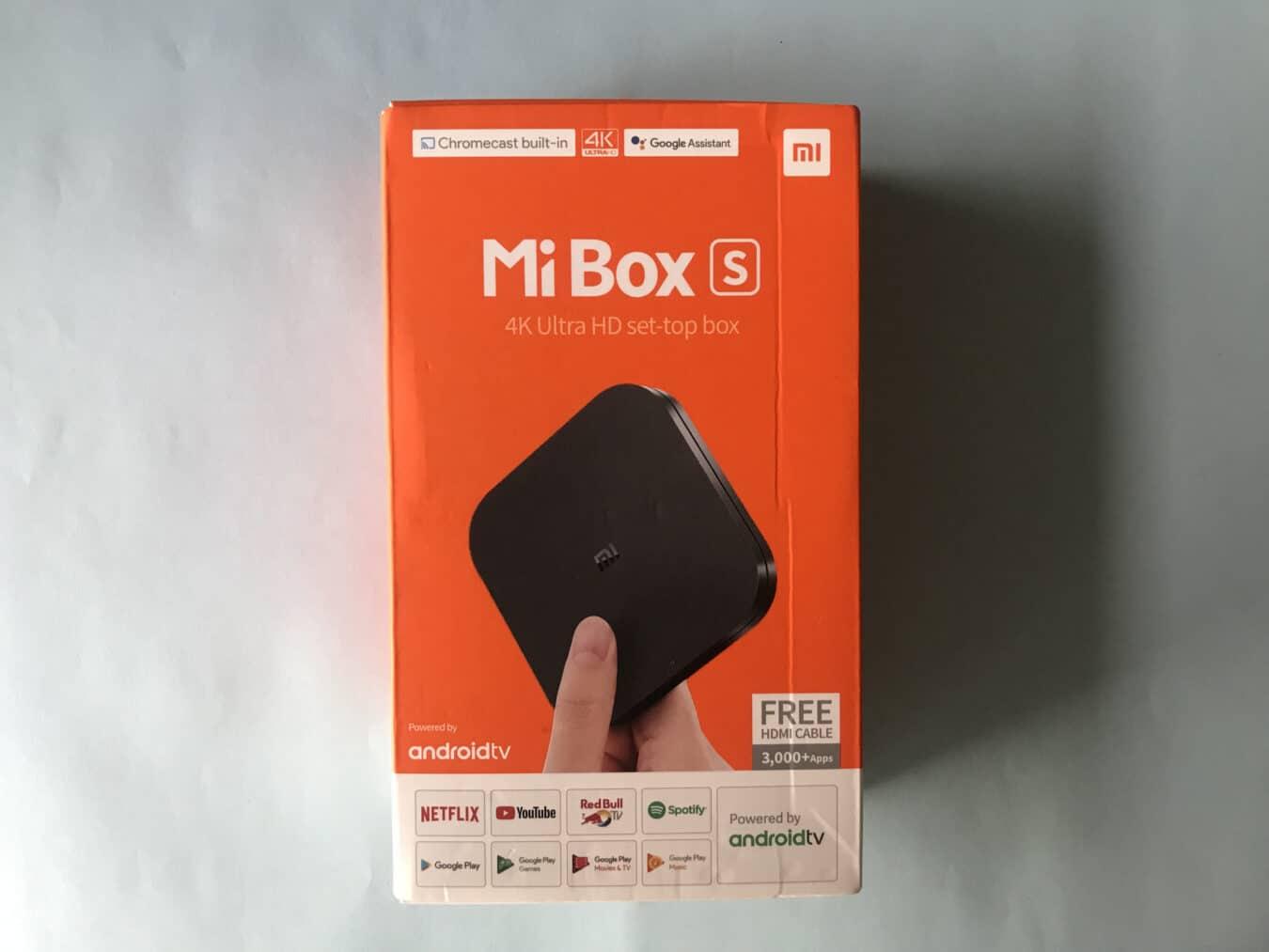 Boîte Xiaomi Mi Box S