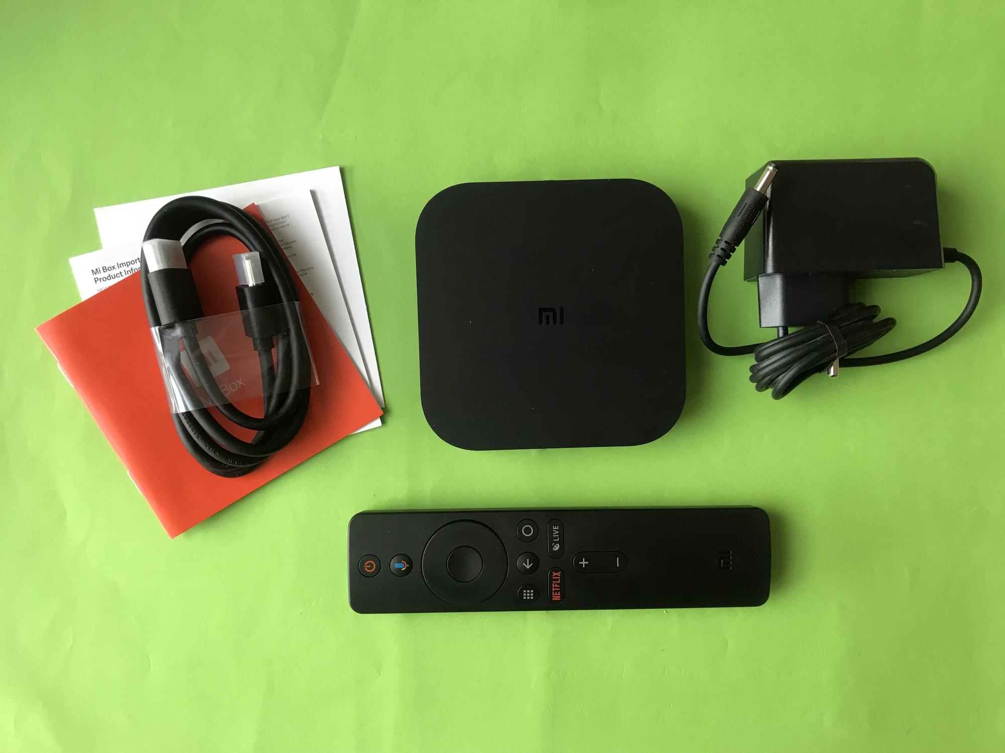 Xiaomi Mi Box S accessoires