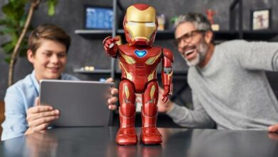 Photo de UBTECH x Marvel – Iron Man prend vie chez vous !