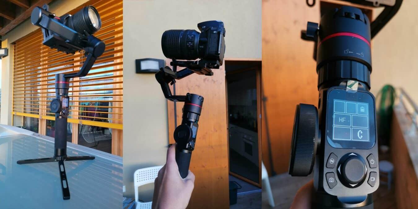 Photo de Test : FeiyuTech AK2000 : Le stabilisateur avantageux des Reflex timides