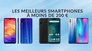 Photo of Les meilleurs smartphones Android à moins de 200€ – Mai 2019