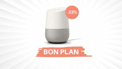 Photo de Bon Plan – L'enceinte connectée Google Home descend à 99€ !