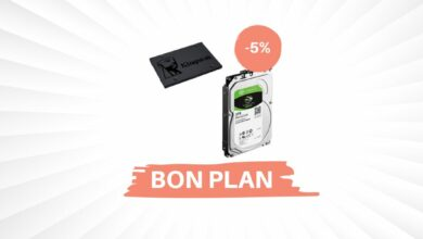 Photo de Bon Plan – Un SSD 240Go + HDD 3To Kingston pour 99,66€ !