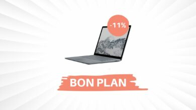 Photo of Bon Plan – Le Surface Laptop de Microsoft descend à 666€ !