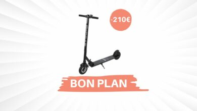 Photo of Bon Plan – La trottinette électrique E-Road passe à 188,99€ !
