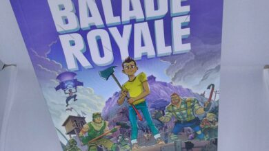 Photo de Livre – Balade Royale : Fan-Fiction dans l'univers de Fortnite