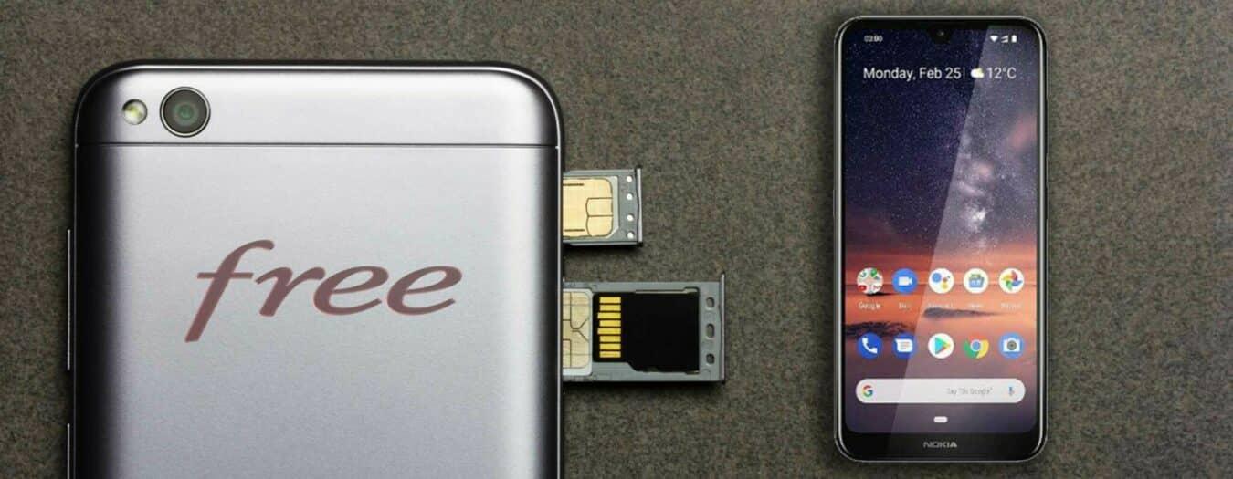 Photo de Free mobile : 100Go et un mobile pour 9,99€ par mois sur Veepee