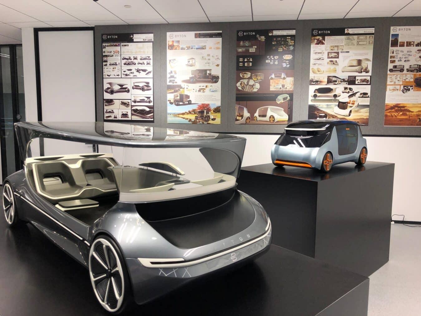 Photo de BYTON ouvre son studio à Shanghai et valide son design – CES Asia 2019