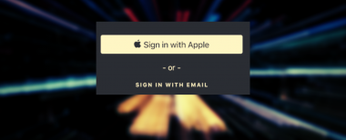 Sign in wth Apple