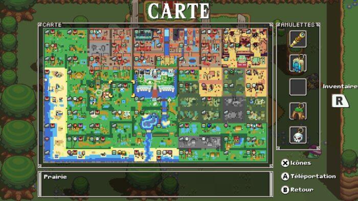 Carte - Cadence of Hyrule