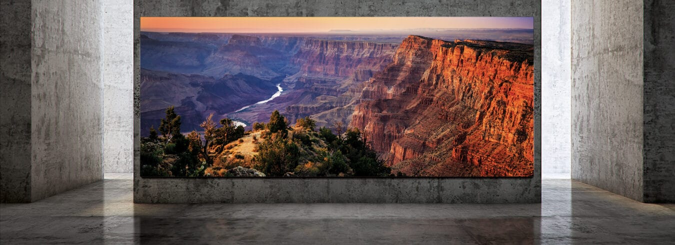 Photo of Samsung The Wall Luxury : un téléviseur 8K de 292″ compatible HDR