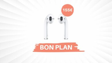 Photo of Bon Plan – Les AirPods 2 d'Apple passe à 155€ !