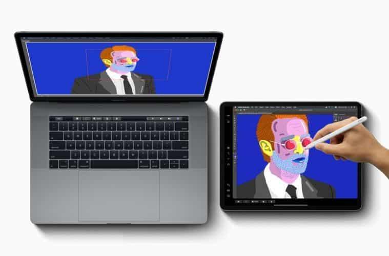 iPadPro et MacbookPro