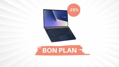 Photo of Bon Plan – 25% de réduction sur l'Asus ZenBook 13,3″ !