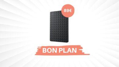 Photo de Bon Plan – Un disque dur externe Seagate de 4To pour 89€ !