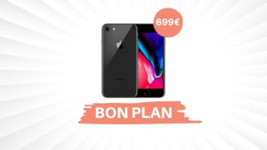 Photo of Bon Plan – L'iPhone 8 Plus passe sous les 700€ !