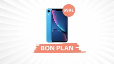 Photo de Bon Plan – L'iPhone XR descend à 699€ chez Amazon !