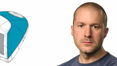 Photo de Jony Ive, l'ami de Steve Jobs et chef design d'Apple, s'en va