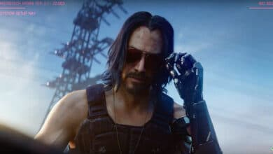 Photo of #E32019 – Cyberpunk 2077 : Keanu Reeves fait vibrer la scène !