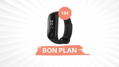 Photo de Bon Plan – Le bracelet connecté Xiaomi Mi Band 3 descend à 18€ !