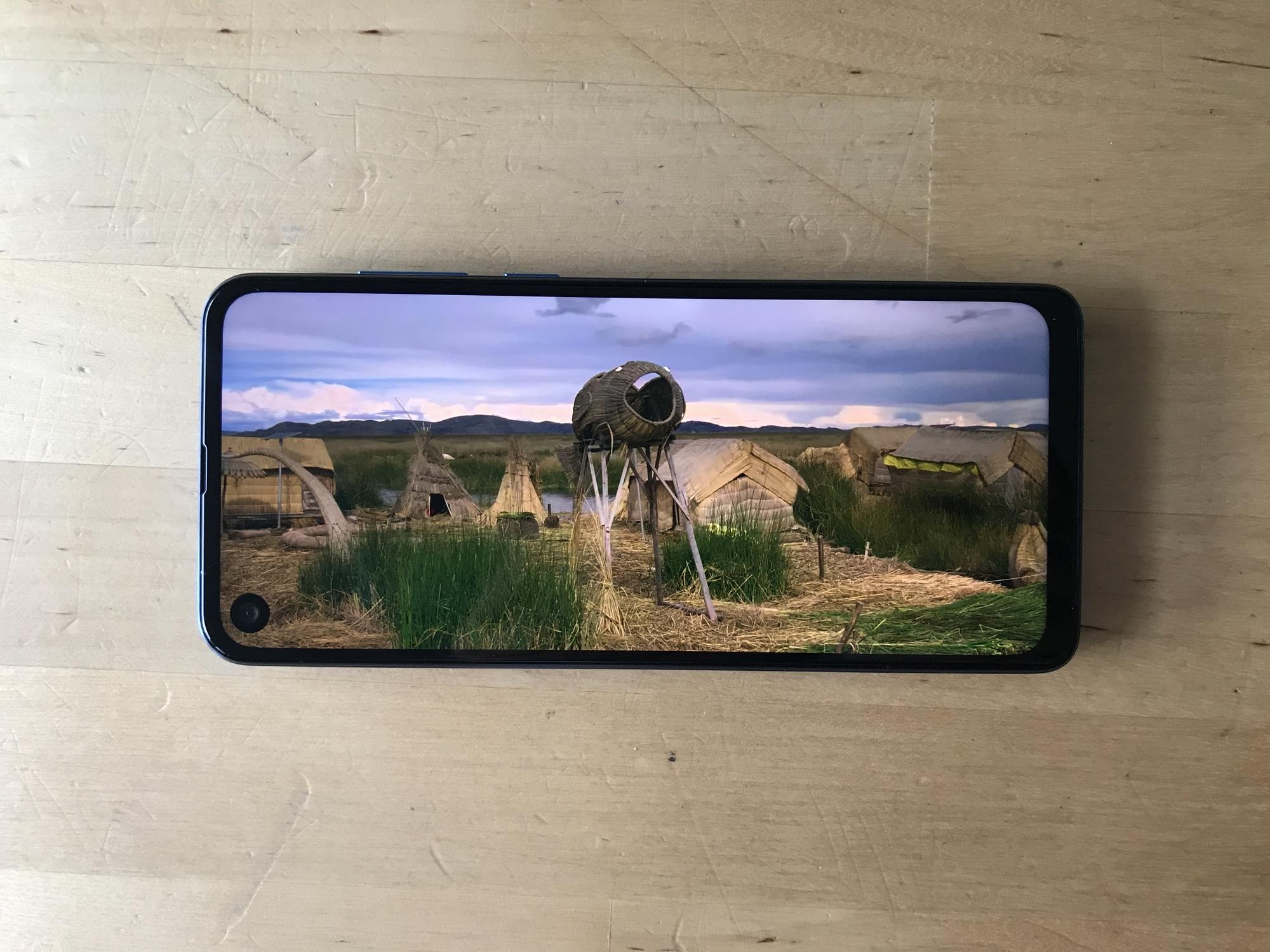 Écran Motorola One Vision