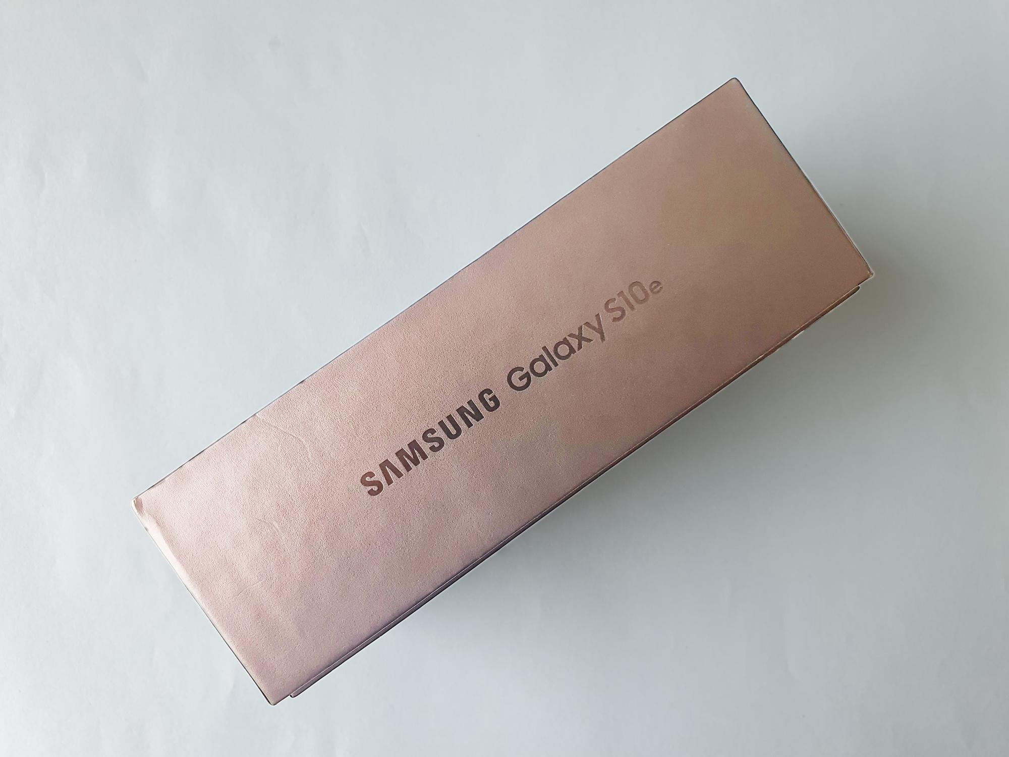 Boîte Samsung Galaxy S10e